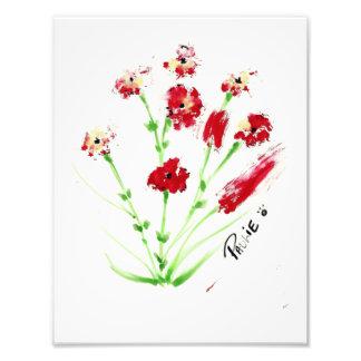 Pawprint Painting Photo Print
