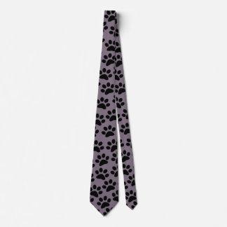 PAWPRINTS color (puppy dog paw prints) ~~ Tie