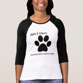 Paws and Claws Baseball Jersey T-Shirt