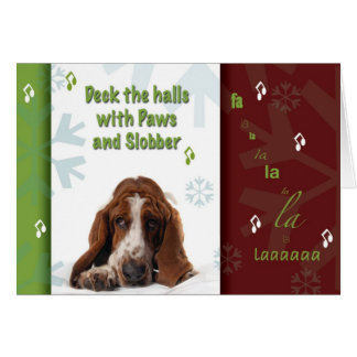 Paws and Slobber Greeting Card
