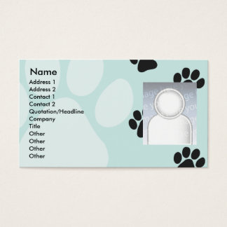 Paws - Business Business Card