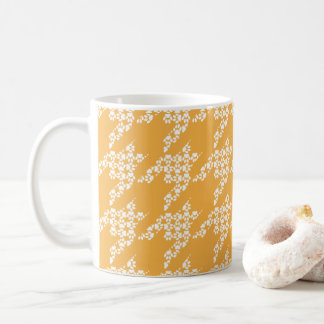 Paws-for-Coffee Mug (Butter/White)
