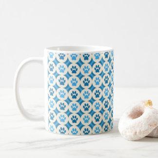 Paws-for-Coffee Mug (Sky/Teal)
