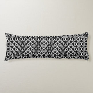 Paws-for-Comfort Body Pillow (Black)