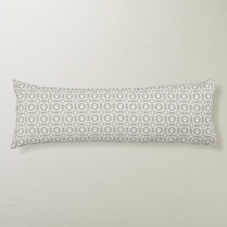 Paws-for-Comfort Body Pillow  (Khaki)