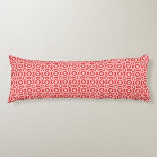 Paws-for-Comfort Body Pillow (Orange)