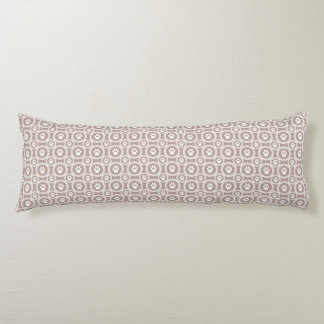Paws-for-Comfort Body Pillow  (Taupe)