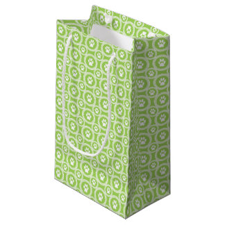 Paws-for-Giving Gift Bag (Green)