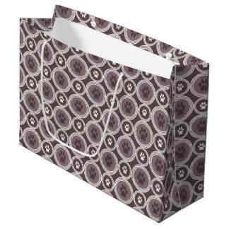 Paws-for-Giving Gift Bag (Mocha)