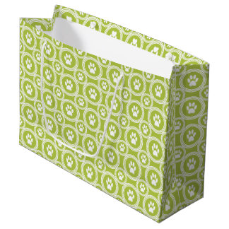 Paws-for-Giving Gift Bag (Olive)