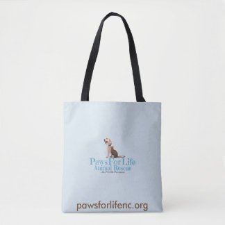 Paws For Life Animal Rescue Tote Bag