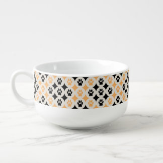 Paws-for-Soup Mug (Mustard)