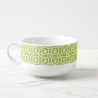 Paws-for-Soup Mug (Olive)