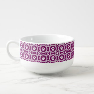 Paws-for-Soup Mug (Plum)