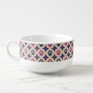 Paws-for-Soup Mug Soup Bowl With Handle