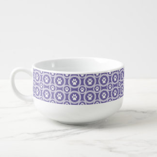 Paws-for-Soup Mug (Violet)