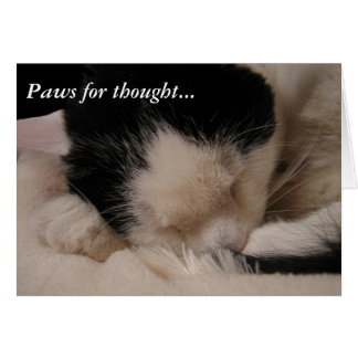 Paws for thought: Sleeping Beauty Card
