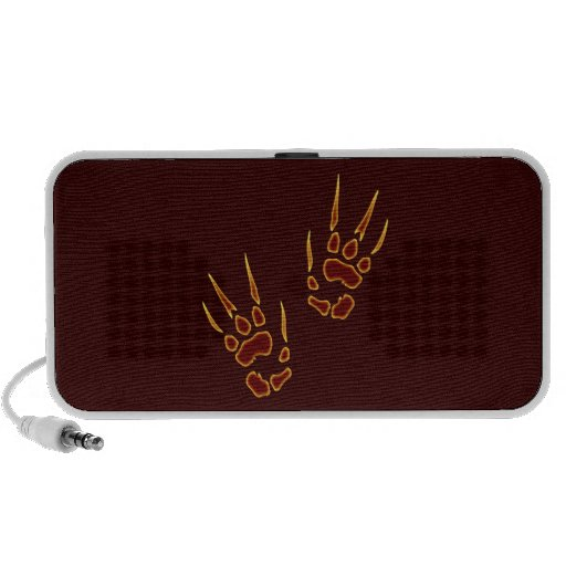 Paws paw prints portable speaker