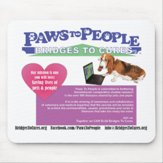 Paws To People Mouse Pad