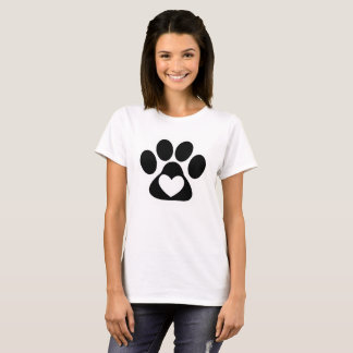 Paws Women T-Shirt - Loving Lucky