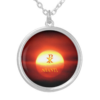 PAX SHANTI SILVER PLATED NECKLACE