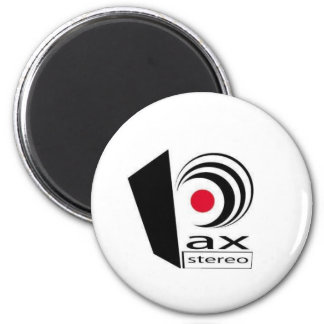 Pax Stereo Logo Items 6 Cm Round Magnet