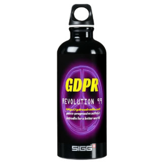 Paxspiration GDPR Sigg Water Bottle