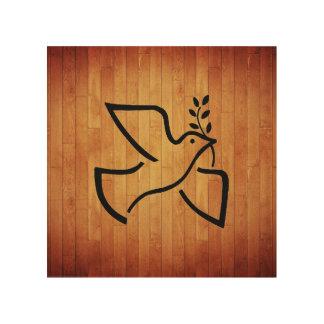 Paxspiration Peace Dove Wood Art
