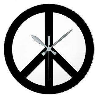 Paxspiration Peace Sign Wall Clock