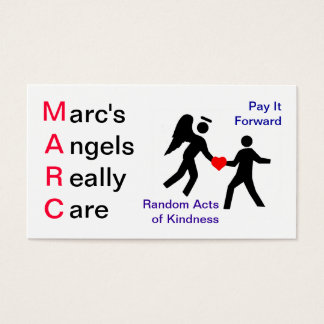 Pay it Forward business card
