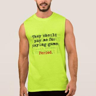 Pay me! Men's Ultra Cotton Sleeveless T-Shirt