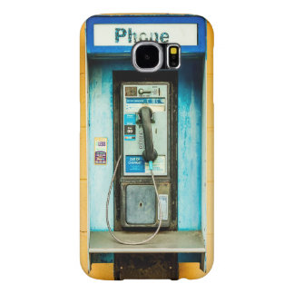 Pay Phone Telephone Booth Samsung Galaxy S6 Cases