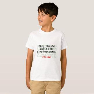 Pay us for gaming Kids' Hanes TAGLESS® T-Shirt