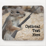 Payback Squirrel Customisable Mousepad
