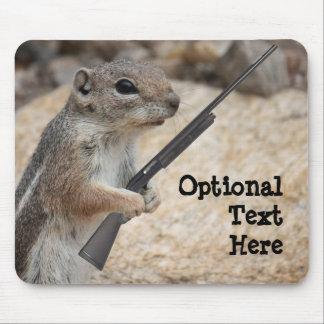 Payback Squirrel Customizable Mousepad