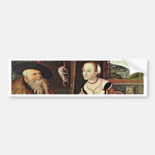 Payment (The In-Laws) By Cranach D. Ä. Lucas (Best Bumper Stickers