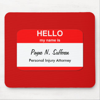 Payne N. Sufferen Mouse Pad