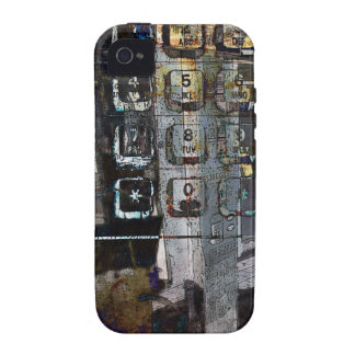 payphone keys collage i-phone case iPhone 4 cases
