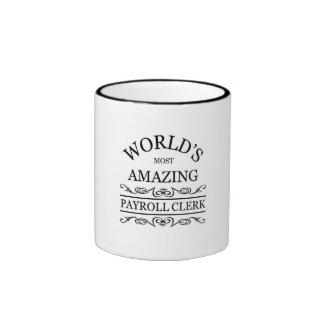 Payroll Clerk Ringer Mug