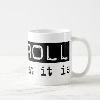 Payroll It Is Basic White Mug