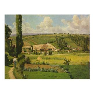 Paysage aux Patis, Pointoise Postcard