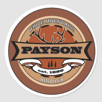 Payson, Arizona Classic Round Sticker