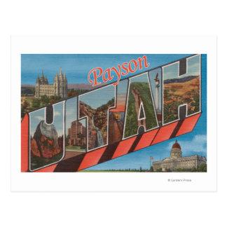Payson, UtahLarge Letter ScenesPayson, UT Postcard