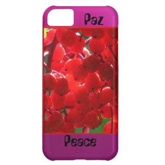 Paz-Peace - Grosellas Rojas iPhone 5C Cover