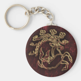 pazyryk animal key ring