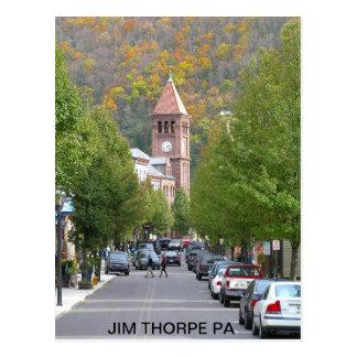 pb030803_main_street2, JIM THORPE PA Postcard