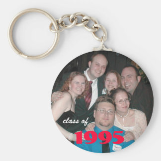 PB250038, class of, 1995 Basic Round Button Key Ring