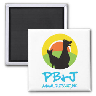 PB&J Animal Rescue Magnet Style 2