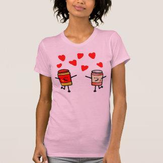 """PB&J Love"" Pink Tee"