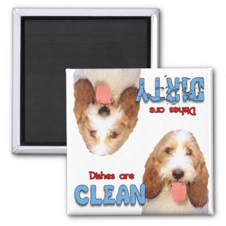 PBGV Dog Lovers Dishwasher Magnet